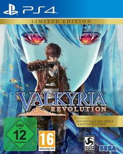 Valkyria Revolution - Limited Edition (Sony PlayStation 4, 2017)