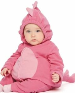 CARTERS 24 MONTH PINK DINOSAUR BABY GIRL COSTUME