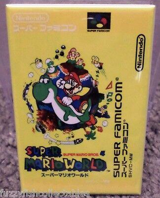 Super Mario World Japanese NES Game Box  2