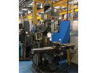 Beaver mill milling machine like bridgeport