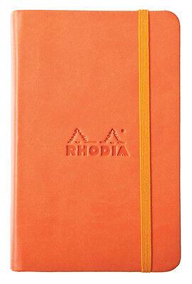 Rhodia Rhodiarama - Notebook - Tangerine - Blank - 3.5 X 5.5 - New R118634