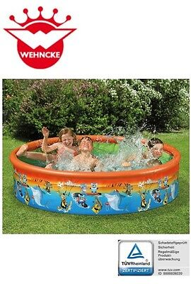 Happy People 18130 Wencke Fix-Planschbecken DOWN UNDER Schwimmbecken Kinder-Pool
