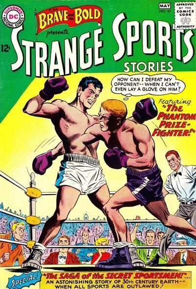 """BRAVE AND THE BOLD #47 Very Good """"Strange Sports Stories"""" Boxing, DC Comics 1963"""