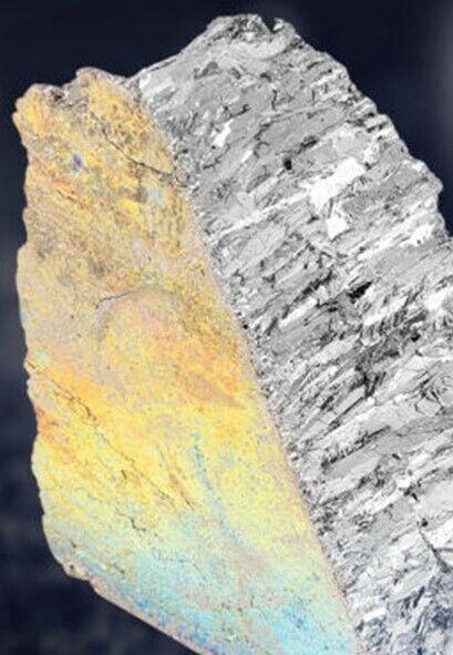 Bismuth Metal Ingot 10 Pound 99.99% Pure Crystals Fishing Lures Shotgun Pellets