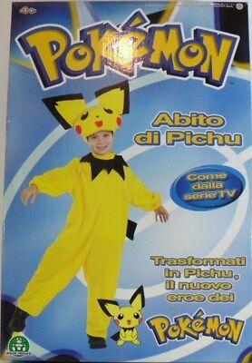 CARNEVALE Costume POKEMON PICHU Giochi Preziosi vestitoTg. 3a (Pichu Costume)