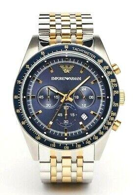 Emporio Armani Tazio Men's Chronograph Watch AR6088 new with tags and box