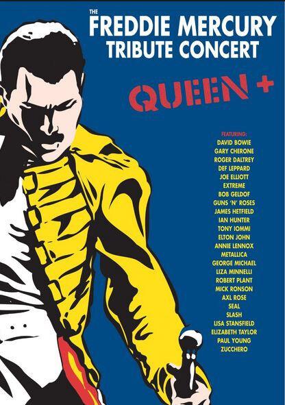 Freddie mercury tribute concert - 3 disc dvd boxset