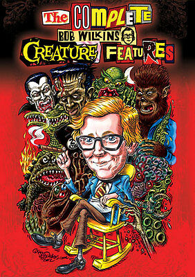 The Complete Bob Wilkins Creature Features Dvd Horror Host Oakland Sacramento