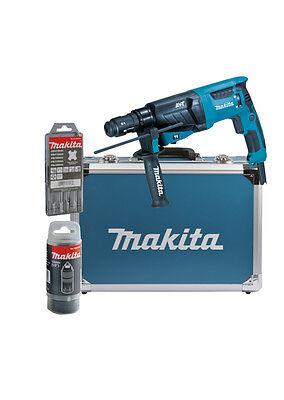 Makita Kombihammer HR2631FT13  für SDS-PLUS 26 mm im Alukoffer vom Fachhandel