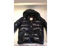 Men's moncler black nylon jacket, size M, £485 ONO