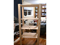 IKEA Gorm Pine Shelving Units - 4 Adjustable Shelves