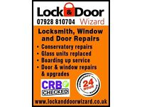 Lock and door wizard.
