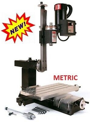 Sherline 5810 Metric Nexgen Vertical Mill New Release For Inch Sherline 5800