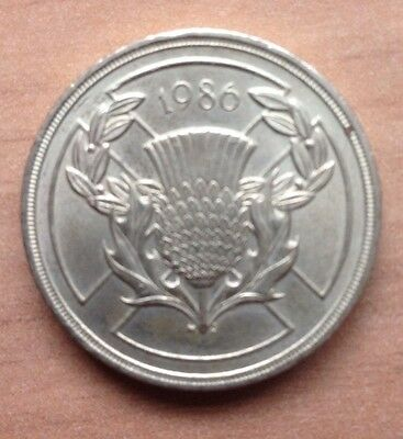 XIII COMMONWEALTH GAMES JULY 1986 - COMMEMORATIVE £2 Two Pound Coin