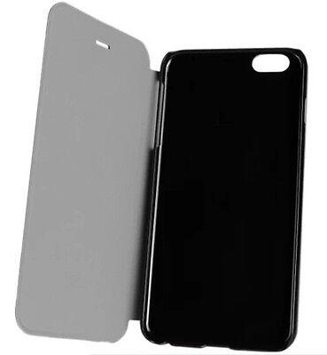 Magnetische Klappe (Aufklappbare Handyhülle Klappe Phone iPhone 6s 6 magnetische Klapphülle Schwarz)