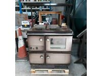 Stanley Super Star stove with oil burner boiler