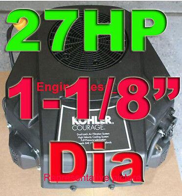 KOHLER COURAGE 27 HP REPLACE HUSQVARNA GTH2548 CV730S-0027 RIDER ...