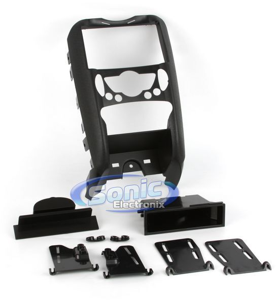 Metra 99-9309 Single/Double DIN Install Dash Kit for 2007-10 Mini Cooper