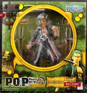 One-Piece-Portrait-Of-Pirates-Roronoa-Zoro-POP-DX-1-8-Figure-Sailing-Again