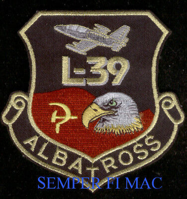 L-39 ALBATROSS HAT PATCH SOVIET FLAG PIN UP PILOT CREW WING GIFT JET TRAINER for sale  Lake Forest