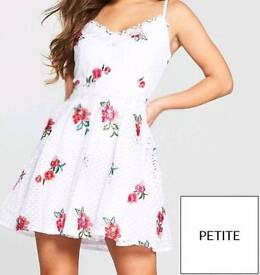 Little Mistress Petite Floral Dress