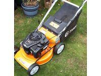 Tiger petrol lawn mower