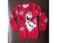 Children's Olaf Christmas Jumper