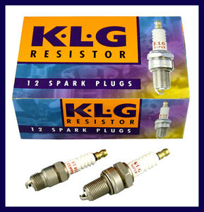 KLG-Spark-Plugs-Box-of-12-Plugs-Equivalent-to-NGK-BP6ES-FE65P
