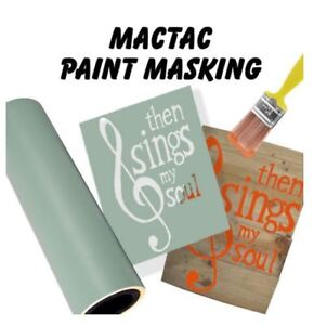 "24""x5yds Paint Mask vinyl stencil airbrushing spray paint vinyl"