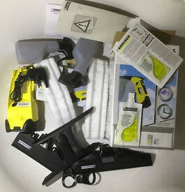 Karcher wv5 window vac shower car demister. New charger refurbed unit free post unused bits