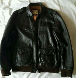 Vintage Leather USAAF Jacket. Aviation Leathercraft