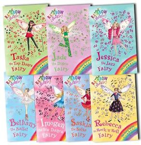 Rainbow Magic Dance Fairies Collection Daisy Meadows 7 Books Set 50 To 56 Pack