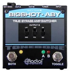 Je Recherche une Radial BigShot ABY Amp Switcher je donne 50$