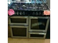 BRAND NEW FLAVEL DUEL FUEL RANGE COOKER