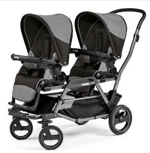 NOT SELLING! LOOKING FOR peg perego double stroller