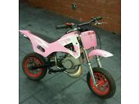 50cc automatic kids motorbike motorcross bike crosser pit bike mini moto childrens quad pw 50 lt 50