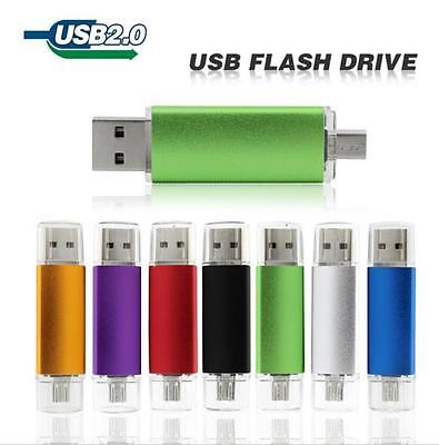 64GB to 1000GB OTG USB 2.0 Flash Drive Memory Thumb Key Stick Pen Storage NEW