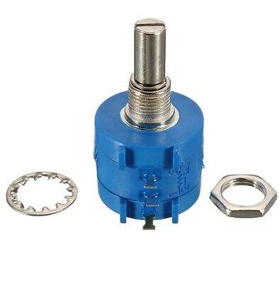 1pcs 3590s-2-501l 500 Ohm Rotary Wirewound Precision Potentiometer Pot 10 Turn L