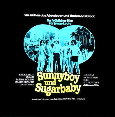 Sunnyboy und Sugarbaby ORIGINAL Kino-Dia / Film-Dia / Diacolor / Ekkehardt Belle