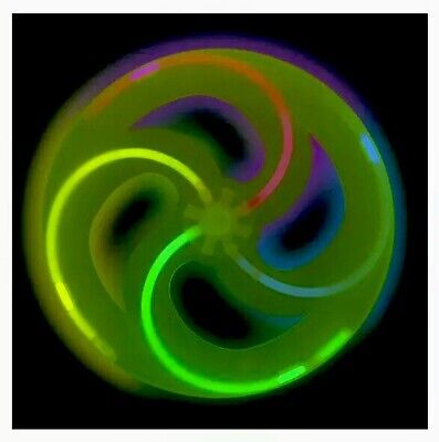 Flying Disc Toy (Glow in the Dark FLYING DISC Frisbee Toy, Beach, Pool, Park, Outdoor Summer)