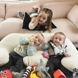 Full time EXPERIENCED mature nanny needed asap for twin boys and toddler girl