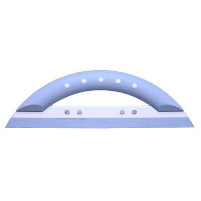 DIETSCHE Design- Glaswischer Duschabzieher SMARTY  hellblau / weiß