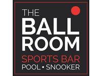 Bar Supervisor/ Manager for Sports Bar Venue in Dunfermline