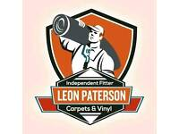 Leon paterson Independent carpet fitter great rates, happy to help you with your home