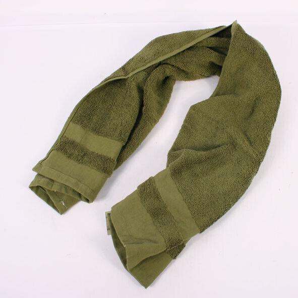 Vietnam Style US Army Green Towel Cotton 110x50cm AV957