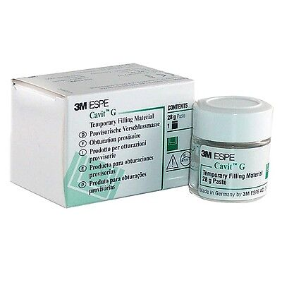 3M CAVIT G 28 GRAM JAR GRAY TEMPORARY FILLING MATERIAL DENTAL