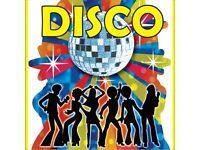 dj/disco/karaoke now taking party bookings