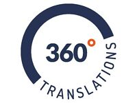 Professional translation services - Translations 360°