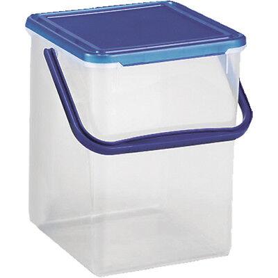 Kunststoff-behälter Mit Deckel (Rotho Waschmittelbehälter 5 kg Waschmittelbox Aufbewahrungsbox Kiste Box )