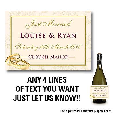 personnalis champagne vin prosecco bouteille tiquette anniversaire de mariage b44 - Tiquette Personnalise Champagne Mariage